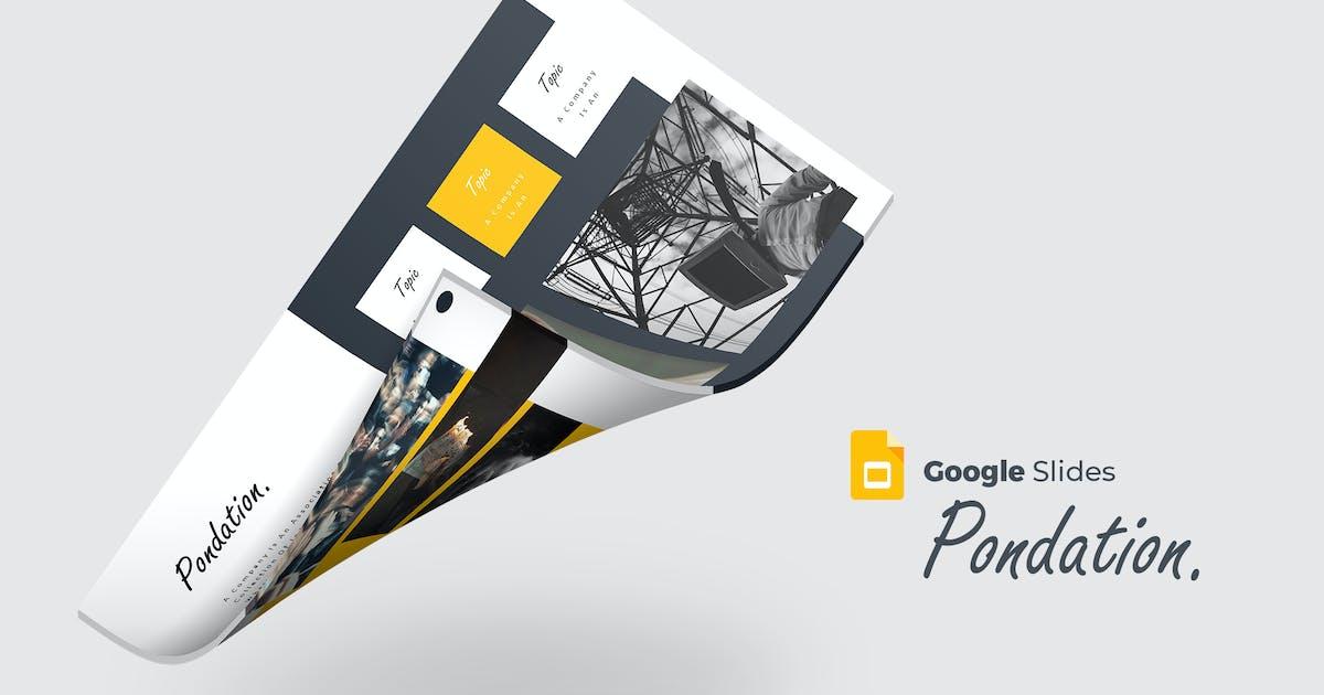 Download Pondation - Google Slides Template by aqrstudio