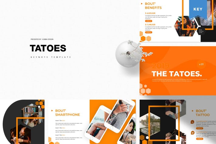 Cover Image For Tatoes | Keynote Template