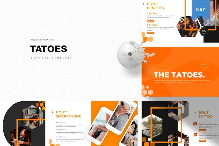 Tatoes | Keynote Template