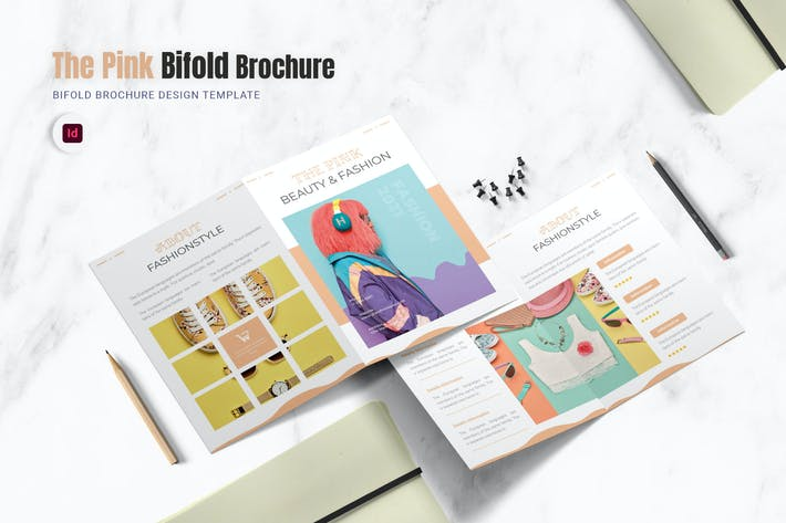 Thumbnail for The Pink Bifold Brochure