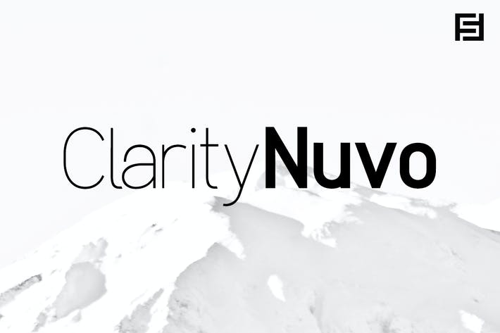 Thumbnail for Clarity Nuvo - Clean & Modern Sans-Serif Typeface