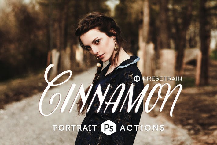 Thumbnail for Cinnamon Portrait Actions