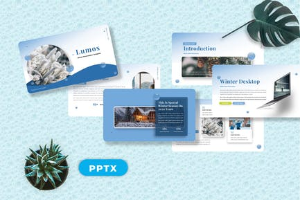 Lumos - Snow Winter Powerpoint Templates