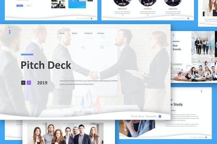 Thumbnail for Pitch Deck Google Slides Presentation Template
