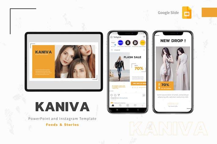 Kaniva - Шаблон Google Слайды и Instagram