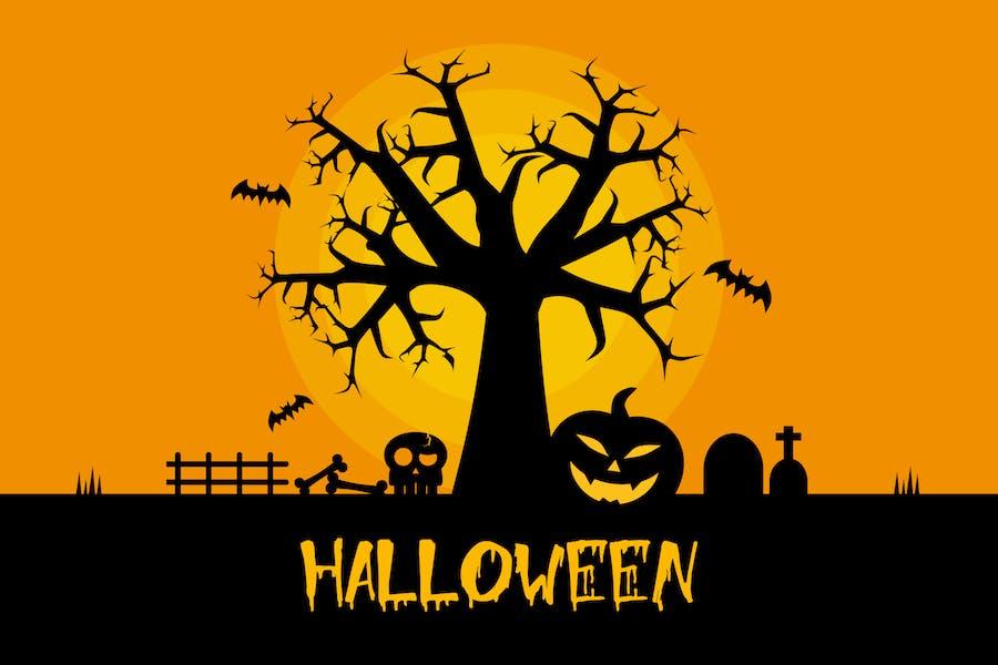 Happy Halloween - Illustration Background