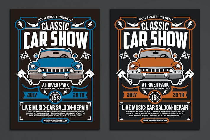 Thumbnail for Classic Car Show Event