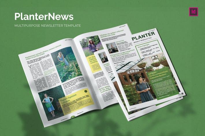 Thumbnail for PlanterNews - Newsletter Template