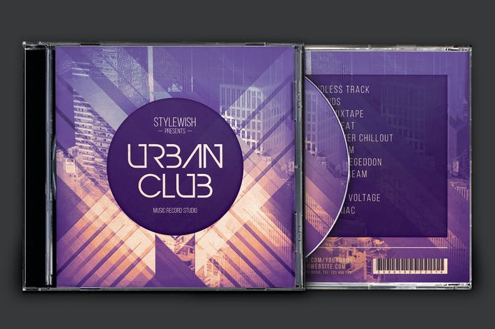 Thumbnail for Urban Club CD Cover Artwork