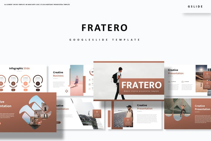 Cover Image For Fratero - Google Slide Template