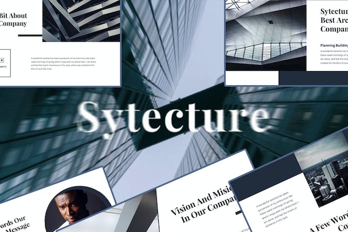 Thumbnail for Sytecture – Creative Architecture PowerPoint