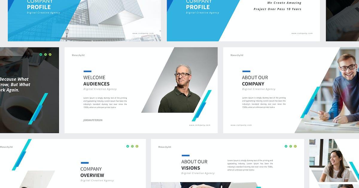 Презентация Powerpoint профиля компании от giantdesign on Envato Elements
