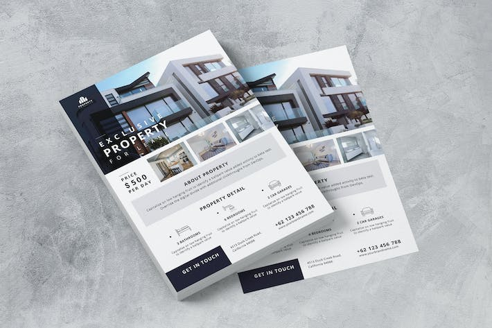 Thumbnail for Family Residence Property AI and PSD Flyer Vol.2