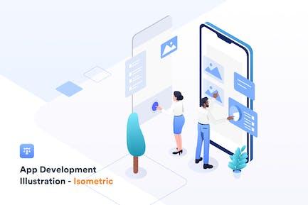 App development - Illustration