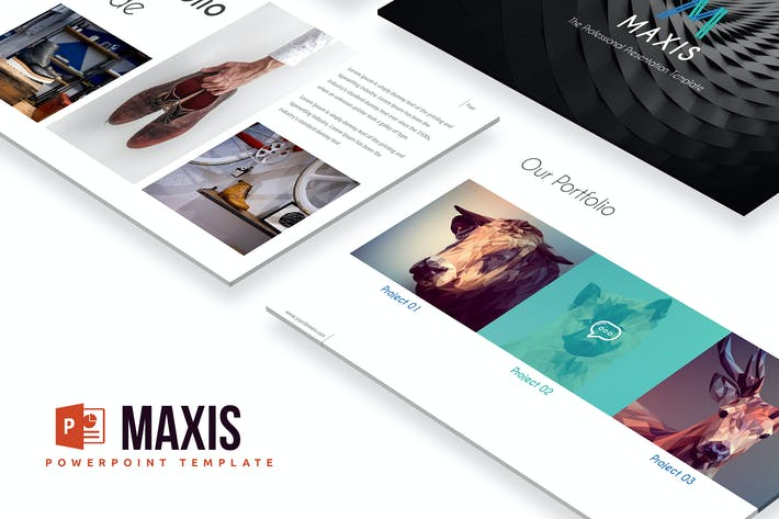 Thumbnail for Maxis Powerpoint Template
