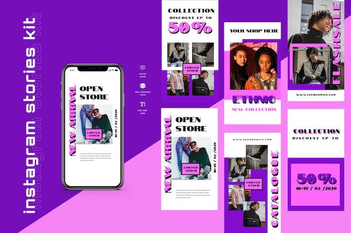 Cover Image For Nine - Instagram Stories - Social Media Kit