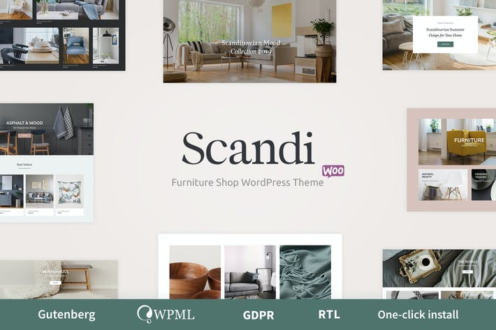 Thumbnail for Scandi - Decor & Furniture Shop WooCommerce Theme