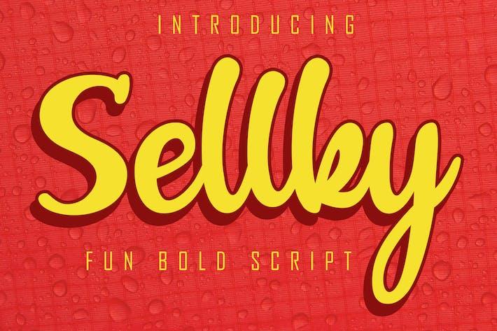 Thumbnail for Sellky Fun Bold Script