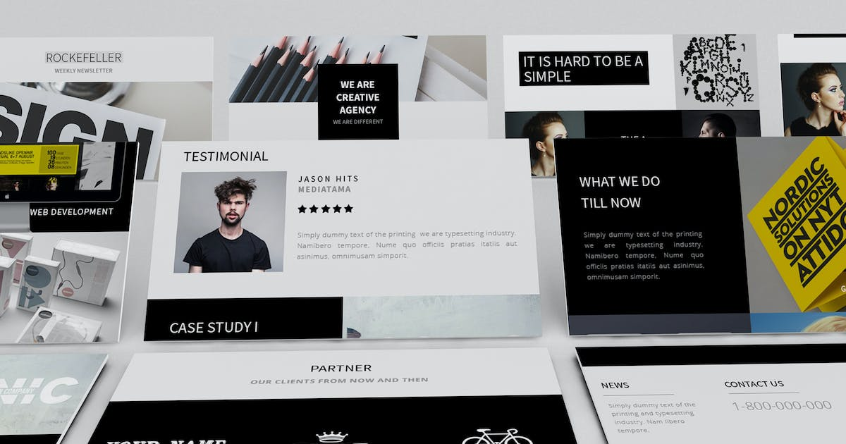 Download Rockefeller Creative Email Template by giantdesign