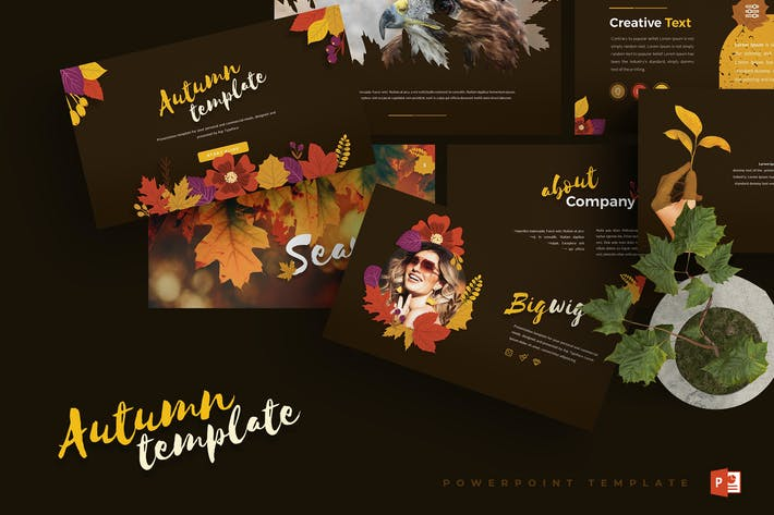 Thumbnail for Autumn - Powerpoint Template