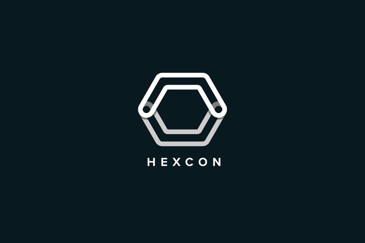 Cover Image For Hexcon Logo Template