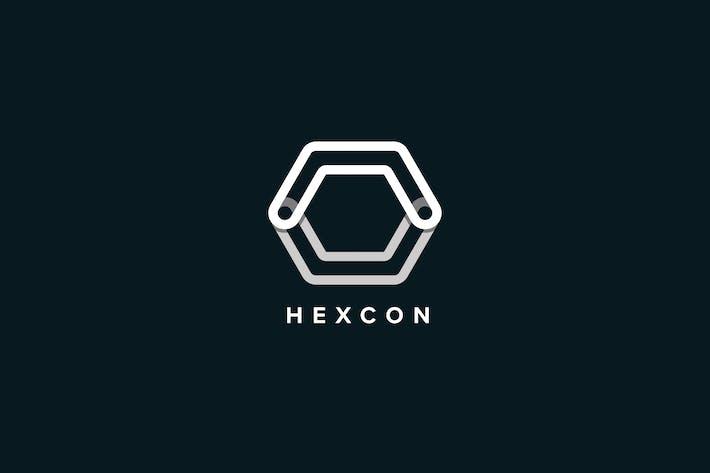 Thumbnail for Hexcon Logo Template