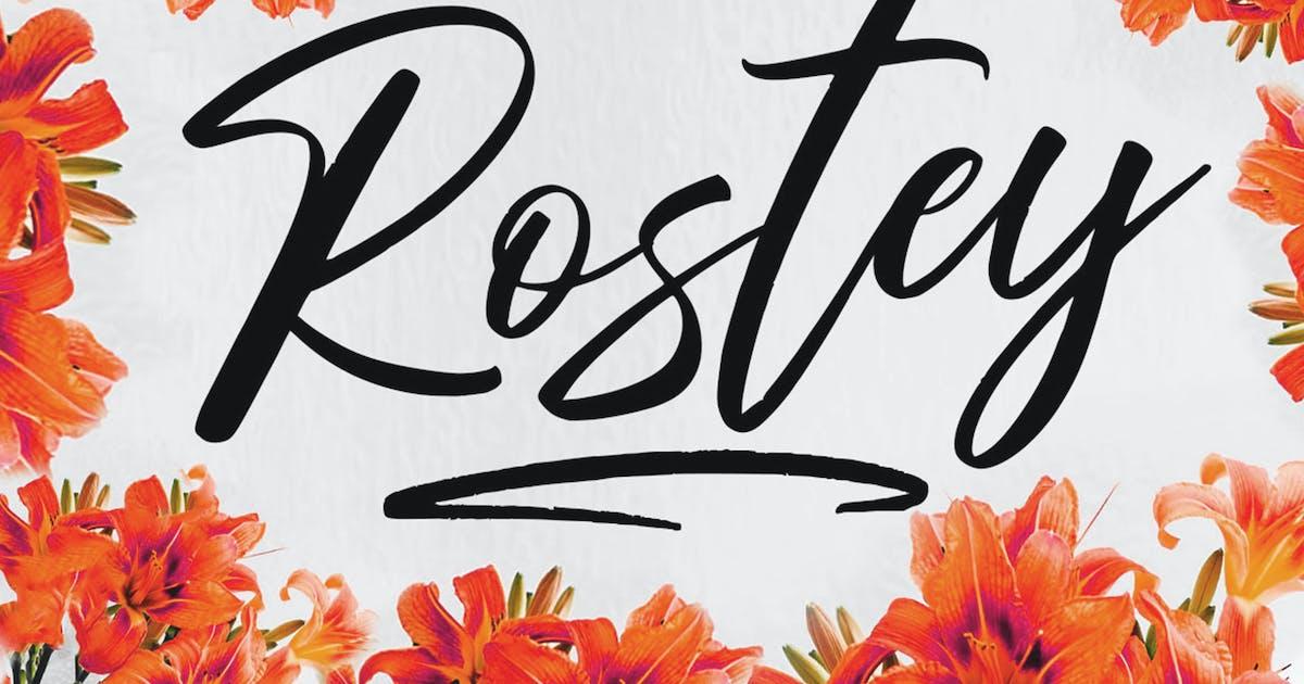 Download Rostey Script by dhanstudio