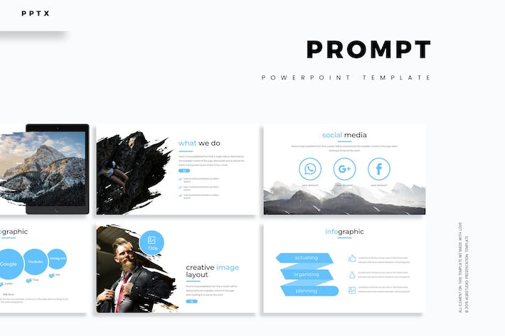 Cover Image For Prompt - Powerpoint Template