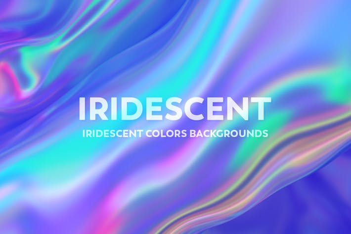 Thumbnail for Iridescent Abstract Backgrounds  - V2