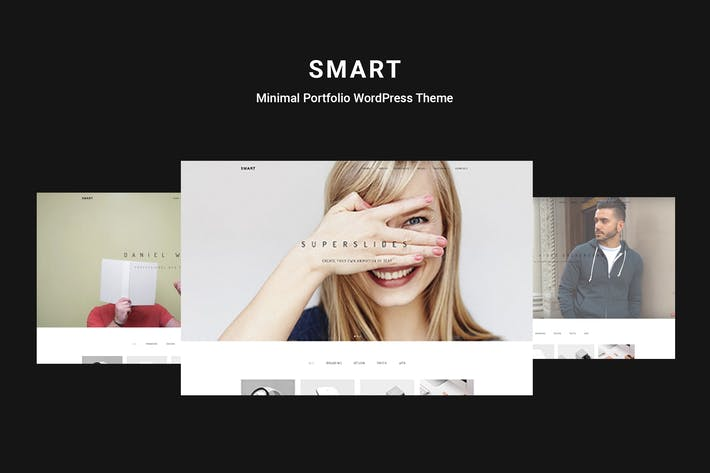 Thumbnail for Smart - Minimal Portfolio WordPress Theme