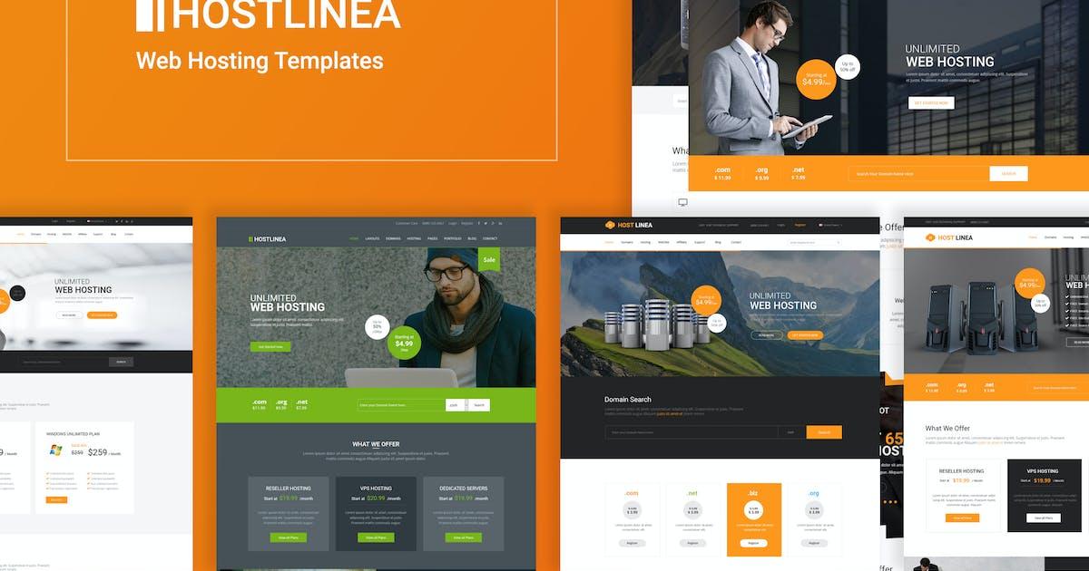Download Hostlinea - Web Hosting, Responsive HTML5 Template by codelayers