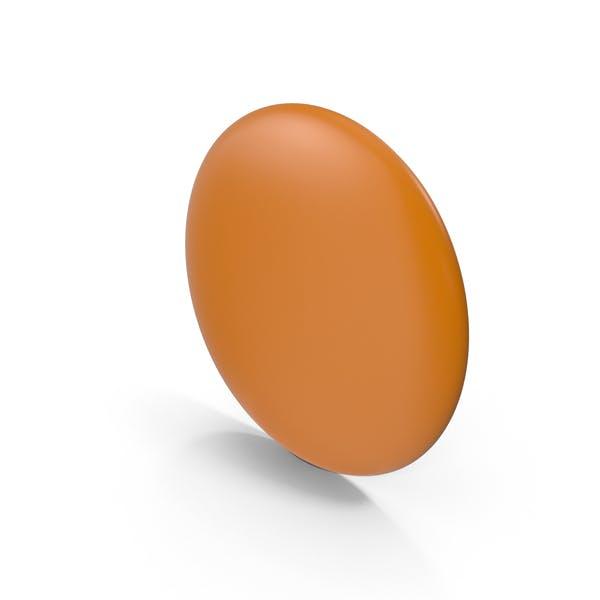 Orange Flair Pin