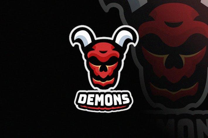Thumbnail for Demon E-sport Logo Design