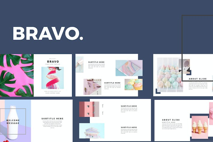 Cover Image For Bravo - Powerpoint