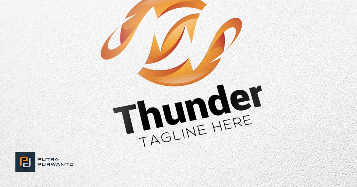 Download Thunder - Logo Template by putra_purwanto