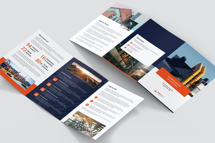 Thumbnail for Brochure – Factory Tri-Fold A5