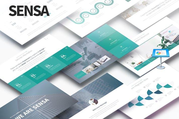 Thumbnail for SENSA - Multipurpose Keynote Presentation