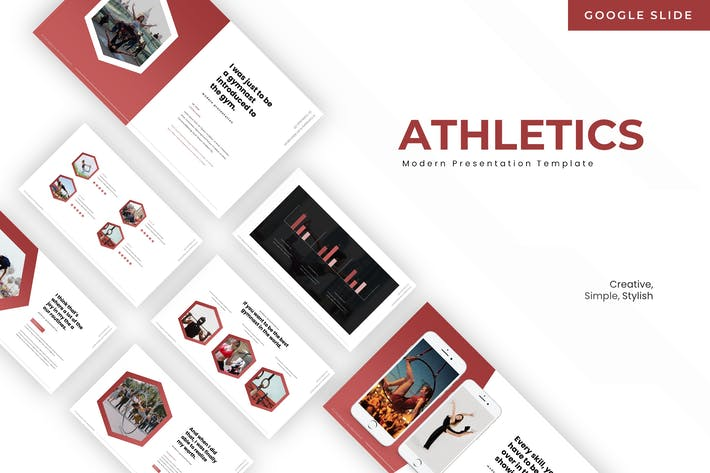Thumbnail for Athletics - Google Slides Template