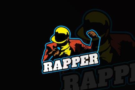 Music Rapper Mascot & eSports Gaming Logo