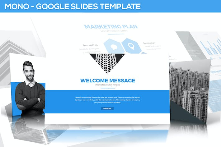Thumbnail for Mono Google Slides Template