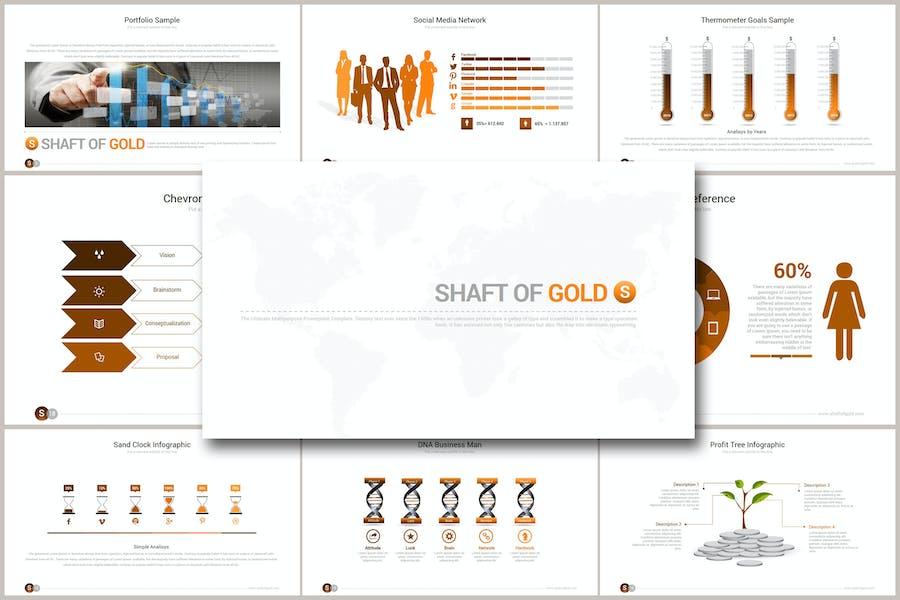 SHAFT OF GOLD Keynote