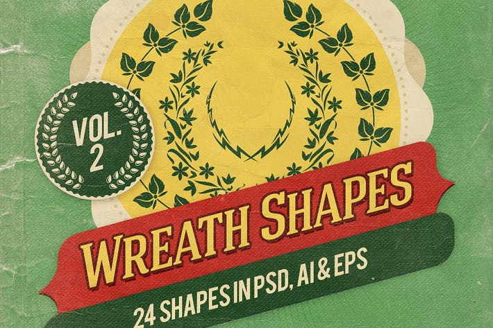 Thumbnail for Wreath Shapes Vol.2