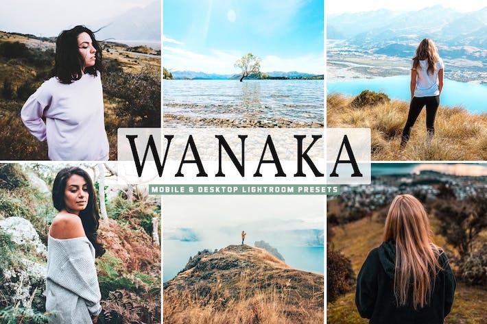 Thumbnail for Wanaka Mobile & Desktop Lightroom Presets