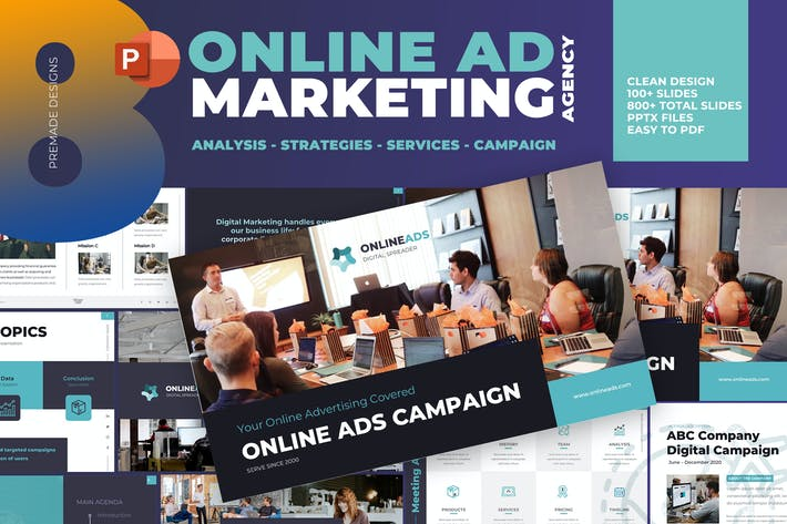 Thumbnail for Digital Marketing Advertisement Presentation