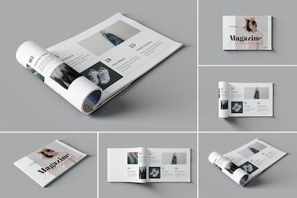 Landscape Magazine / Book Mockups