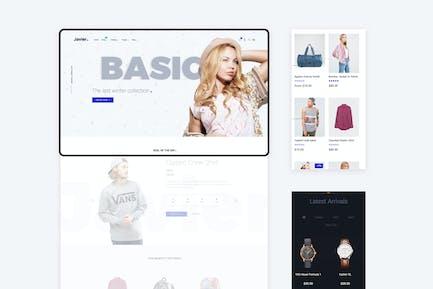 Javier - Tema Premium Shopify