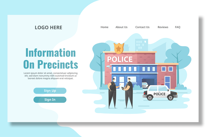 Thumbnail for Police Station - Landing Page
