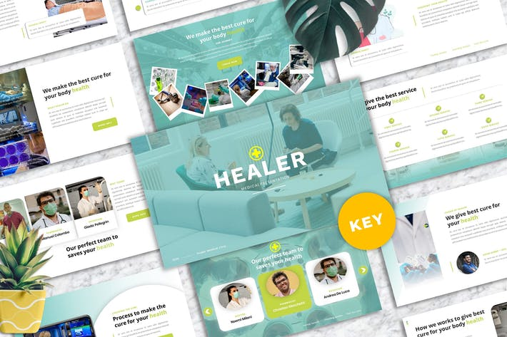 Healer - Medicine Keynote Template