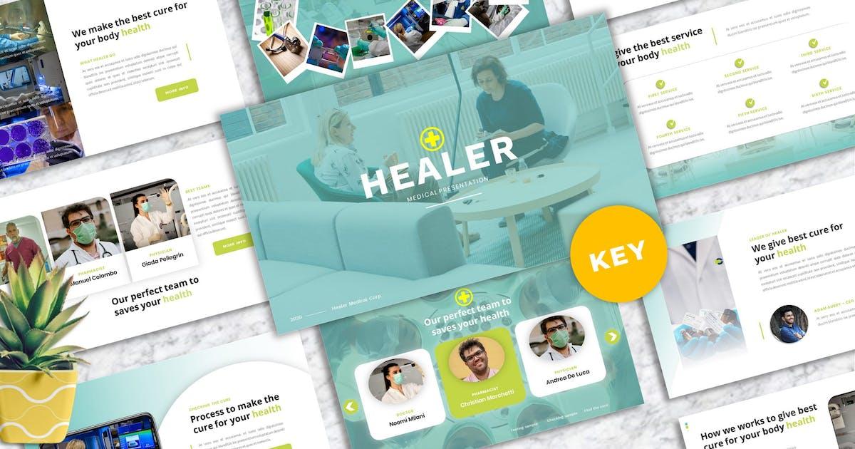 Download Healer - Medicine Keynote Template by Yumnacreative