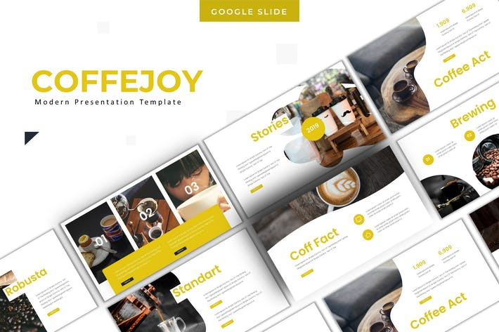 Thumbnail for Coffeejoy - Google Slides Template